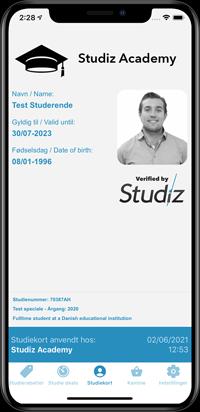 digitalt online studiekort