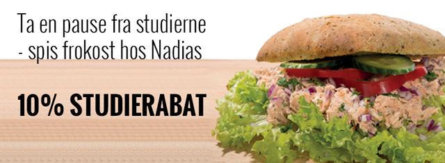 Nadias_sandwich_Aalborg_studierabat_Studiz_studerende