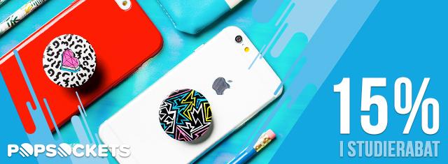 Popsockets_studierabat_mobil_studerende