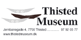 Thisted Museum disounts for students