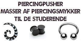 Piercingpusher rabatter til studerende